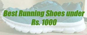 Best running shoes under 1000