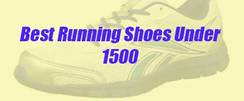 best running shoes under 1500 rs. banner