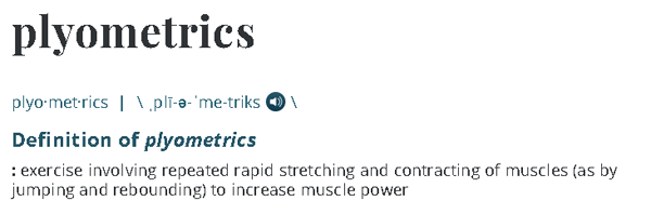 plyometrics definition