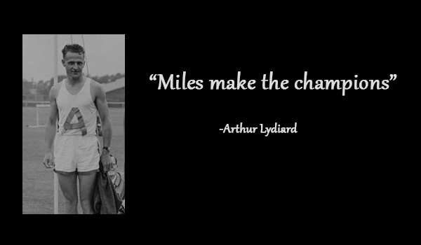 arthur lydiard quote