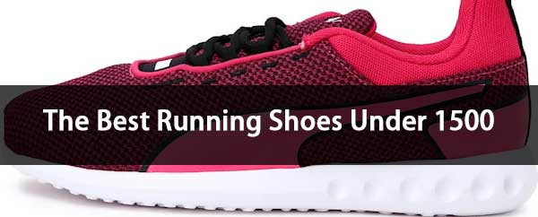 best running shoes under 1500 rupees for men and women banner